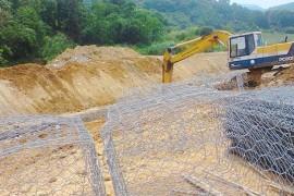 格宾石笼正在许多填海固堤项目中被广泛使用