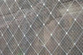 不锈钢钢丝绳网用于护坡网