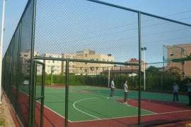 篮球场围栏网如何从表面看出好坏!